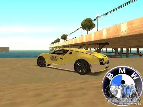 BMW-Tacho für GTA San Andreas dritten Screenshot