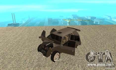 Jemala pour GTA San Andreas vue arrière