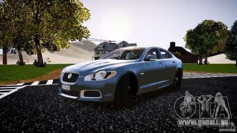 Jaguar XFR 2010 pour GTA 4