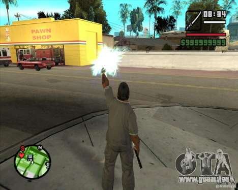 Chidory Mod pour GTA San Andreas