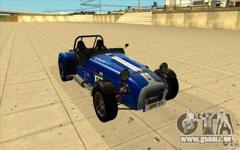 Caterham Superlight R500 für GTA San Andreas
