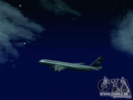 Airbus A330-300 US Airways für GTA San Andreas Seitenansicht