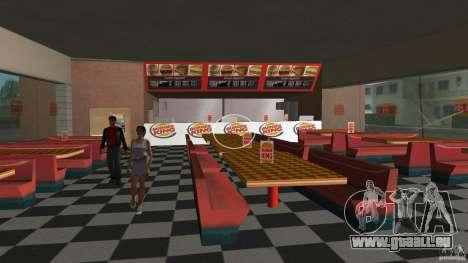 Burgerking-MOD pour le quatrième écran GTA Vice City