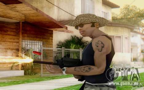 Saiga 12 c de Warface pour GTA San Andreas troisième écran