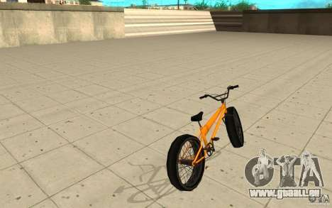 BMX Long Big Wheel Version für GTA San Andreas zurück linke Ansicht