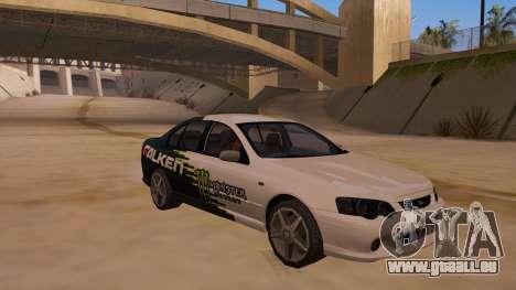 Ford Falcon XR8 2008 Tunable V1.0 pour GTA San Andreas vue de droite