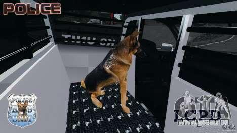 LCPD K9 Unit für GTA 4 Rückansicht