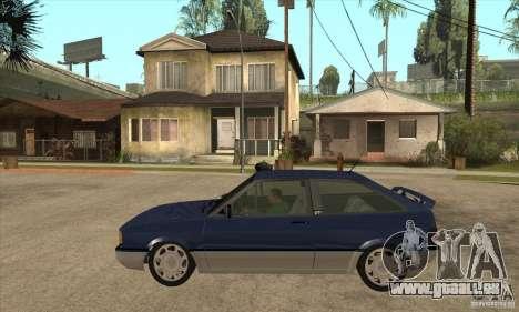 VW Gol GTI 1989 pour GTA San Andreas laissé vue