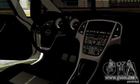 Opel Astra Senner pour GTA San Andreas vue de côté