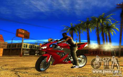 Yamaha YZF R1 Tuning Version für GTA San Andreas