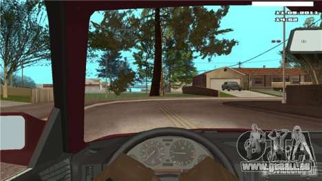 First-Person-Kamera im Auto für GTA San Andreas