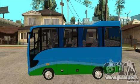Iveco Eurocity für GTA San Andreas linke Ansicht