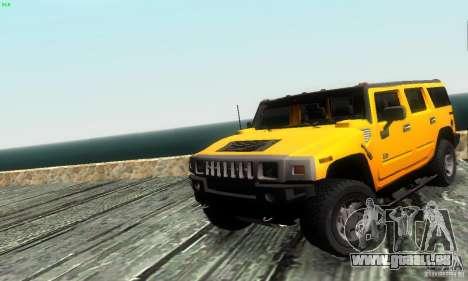 Hummer H2 Tunable für GTA San Andreas