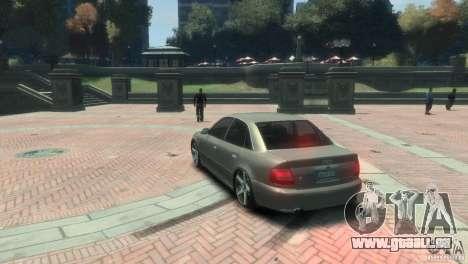 Audi S4 pour GTA 4 est un droit