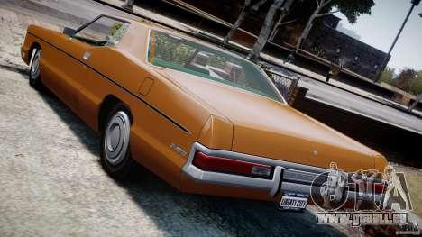 Mercury Monterey 2DR 1972 für GTA 4-Motor