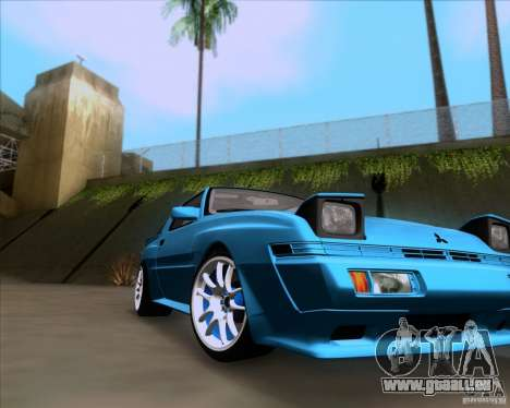 Mitsubishi Starion pour GTA San Andreas vue de droite