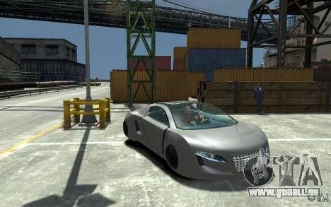 Audi RSQ Concept pour GTA 4 Vue arrière