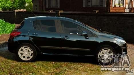 Peugeot 308 2007 pour GTA 4 est une gauche