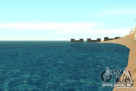 Nouvelle eau de texture pour GTA San Andreas