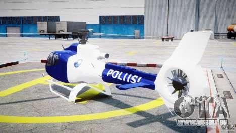 Eurocopter EC 130 Finnish Police pour GTA 4 Vue arrière de la gauche