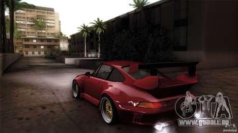 Porsche 993 RWB pour GTA San Andreas laissé vue