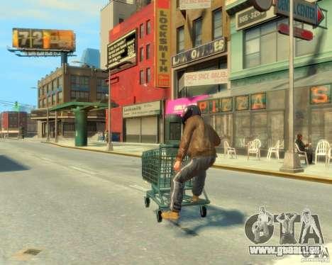 Chariot pour GTA 4 est une gauche