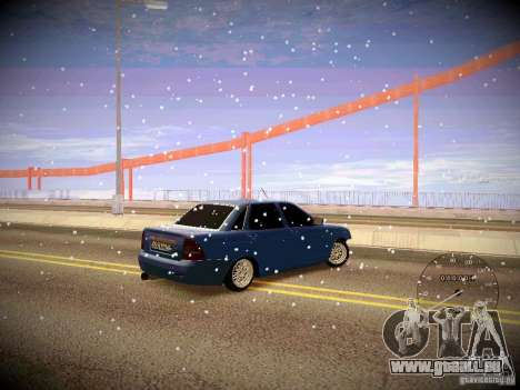 Lada Priora Turbo v2.0 für GTA San Andreas Rückansicht
