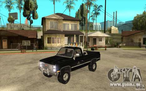 GMC Sierra 1986 FBI für GTA San Andreas