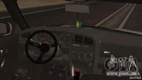 Volkswagen Corrado VR6 pour GTA San Andreas vue de côté