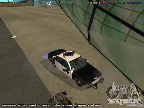 Chevrolet Caprice 1991 LVPD für GTA San Andreas Seitenansicht