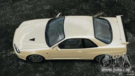 Nissan Skyline GT-R R34 2002 v1.0 für GTA 4 rechte Ansicht