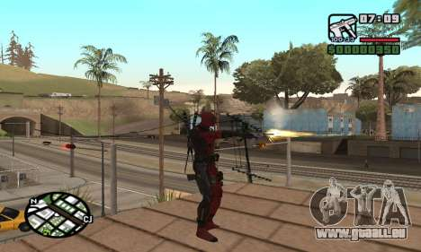 Dead Pool pour GTA San Andreas deuxième écran