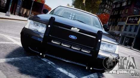 Ford Crown Victoria Massachusetts Police [ELS] pour GTA 4 est un côté