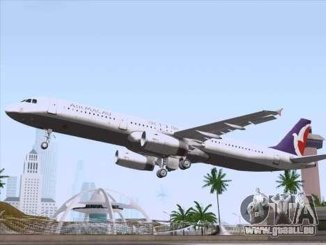 Airbus A321 Air Macau für GTA San Andreas Motor
