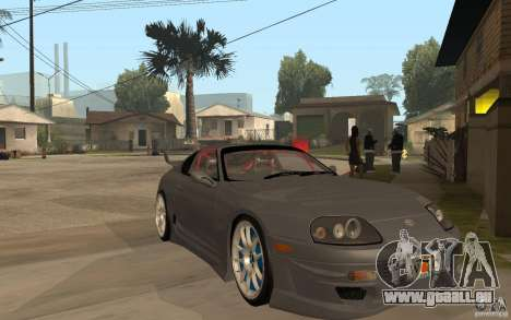 Toyota Supra Rz The Bloody Pearl 1998 pour GTA San Andreas vue arrière
