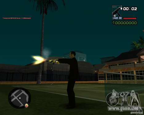 Tec 9 GOLD für GTA San Andreas her Screenshot