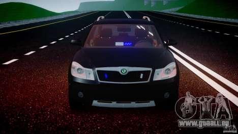 Skoda Octavia Scout Unmarked [ELS] für GTA 4 Innen