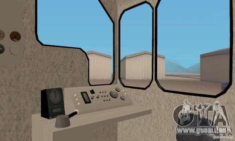 Locomotive LDH 18 pour GTA San Andreas vue de droite
