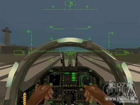 Luftfahrt HUD für GTA San Andreas