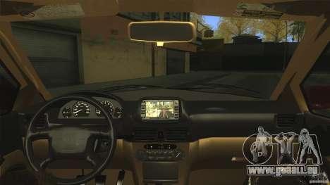 Toyota Corolla G6 Compact E110 US für GTA San Andreas Innenansicht