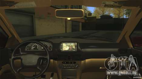 Toyota Corolla G6 Compact E110 US pour GTA San Andreas vue intérieure