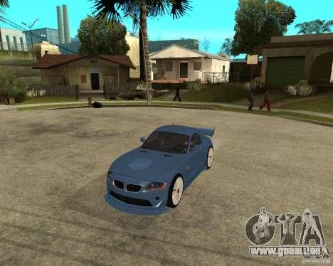 BMW Z4 Supreme Pimp TUNING volume I pour GTA San Andreas laissé vue