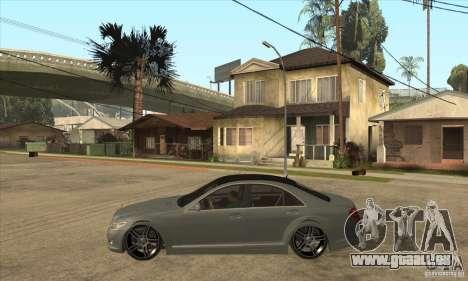 Mercedes Benz Panorama 2011 pour GTA San Andreas laissé vue