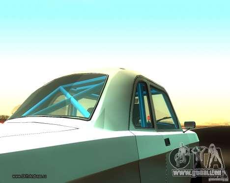 GAZ Volga 2410 Drift Edition für GTA San Andreas Rückansicht