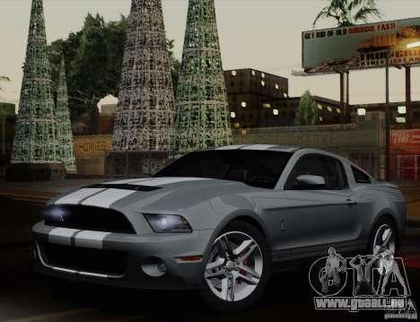 Ford Shelby GT500 2011 für GTA San Andreas linke Ansicht
