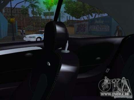 Mercedes-Benz CLK55 AMG pour GTA San Andreas vue de dessous