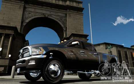 Dodge Ram 3500 Stock Final für GTA 4 obere Ansicht