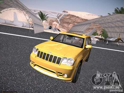 Jeep Grand Cherokee SRT8 für GTA San Andreas linke Ansicht
