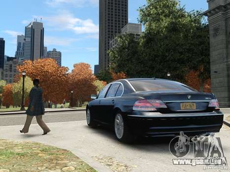 BMW 7 Series E66 2011 pour GTA 4 est un droit