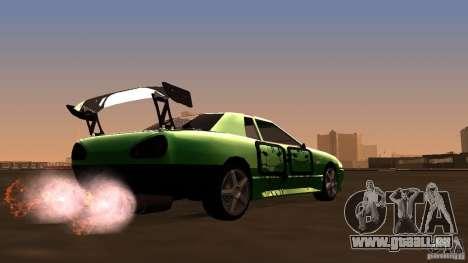 Elegy v0.2 pour GTA San Andreas vue de droite